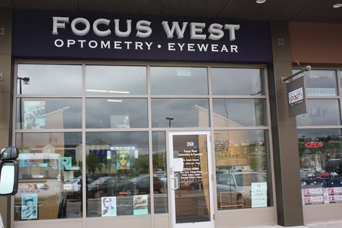 Focus West Optometry storefront